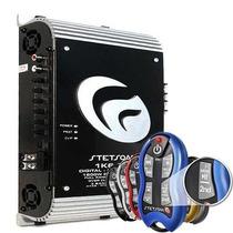 Amplificador Modulo Stetsom 1k6 Eq 2 Ohms + Controle Sx2 Som