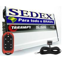Módulo Amplificador Taramps Hd-4000 + Controle Tlc-3000