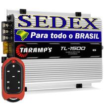Módulo Amplificador Taramps Tl-1500 390w + Controle Tlc-3000