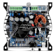 Modulo Amplificador Stetsom Cl950 Potência Cl950 He 3 Canais