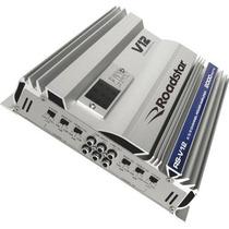 Amplificador Mosfet A 2000w Rs-v12 Prata Roadstar