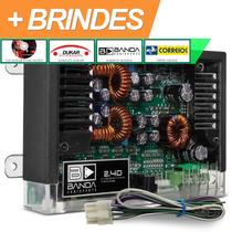 Modulo Amplificador Banda 2.4d 400w Rms Acrílico + Frete