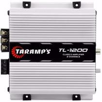 Modulo Amplificador Taramps Tl 1200 260w Rca Tl1200 2 Canais