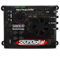 Amplificador Soundigital Sd600.1d 600wrms Sd600 2ohms