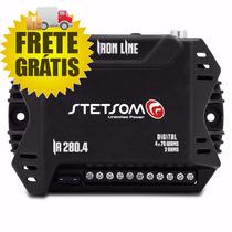 Modulo Amplificador Stetsom Ir 280.4 Iron Line Ha 4.280wrms