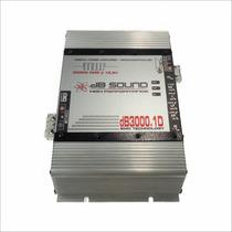 Módulo Amplificador Db Sound Db3000.1d 3000 Rms