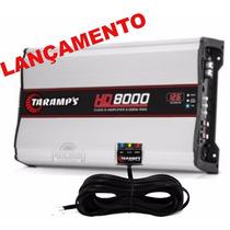 Módulo Amplificador Taramps Hd-8000 Rms 1 Ch Em 2 Ohms