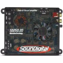Amplificador Classe Sd250.2d Digital 300w Rms Sd250