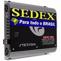 Módulo Amplificador Stetsom 3k3 Eq 4000w Rms + Sedex+ Brinde