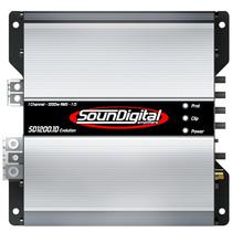 Modulo Soundigital Sd1200 Evolution 1 Ohm 1200w Rms