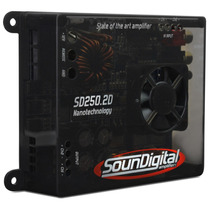 Modulo Amplificador Soundigital Evolution Sd250.2 250w Rms