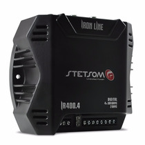 Módulo Amplificador Stetsom Iron 400.4 400w Rms 4 Canais