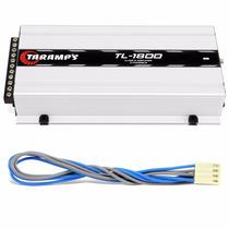 Modulo Taramps Tl 1800 530w Rms Rca 3 Canais Amplificador