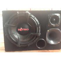 Caixa Trio Nitro 12 + Roadstar V12 2000 Watts