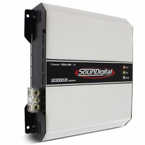Sound Digital Potencia 3000 W 3000 Rms!