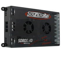 Módulo Amplificador Soundigital Evolution Sd800.4 800w Rms