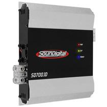 Modulo Amplificador De Potência Soundigital Sd-700.1d 700w