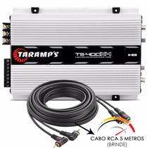 Modulo Taramps Ts400 X4 Digital De 400w Rms + Frete Grátis