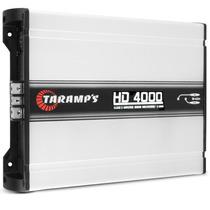 Modulo Amplificador Taramps Hd 4000 1 Canal 4000w Rms Mono