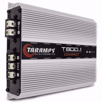 Amplificador Taramps T-500d - 500w Rms 1 E 2 Ohms
