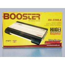 Modulo Som Booster Ba-2200.4 3000w Novo