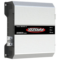 Modulo Amplicador Soundigital Sd 3000.1d Evo 3000w Rms+frete