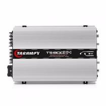 Módulo Taramps Ts 800x4 Compact 800w Rms 4 Canais 2 Ohm