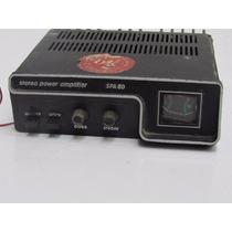 Antigo Amplificador Para Veículos