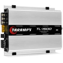Módulo Taramps 1500 390w Rms Tl1500 3 Canais Amplificador