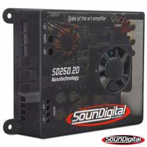 Potencia Automotiva Soundigital Sd250.2d Sd250 Sd250.2 250w
