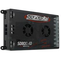 Modulo Soundigital Sd800.4d Sd800 Amplificador 800rms