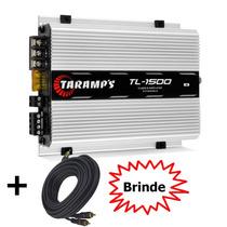 Amplificador Taramps Tl1500 3 Canais 390w Rms 2ohms+cabo Rca