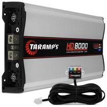 Modulo Taramps Hd 8000w Rms Amplificador + Monitorador Led