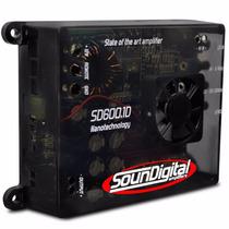 Modulo Soundigital Sd600.1d 600w Rms Potencia Auto Som 2ohms
