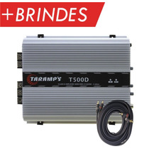Modulo Taramps T 500 Digit T500d 599w Rms 1 Canal + Cabo Rca