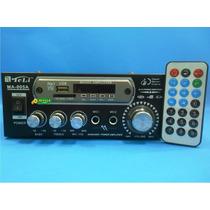 Amplificador Ma005a Som Ambiente 70w Rms Por Canal Mp3 Fm
