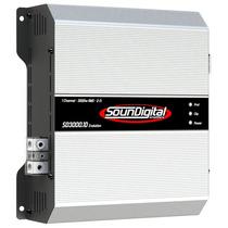 Modulo Soundigital Evo Sd3000 Sd3000.1d Evolution 3000rms