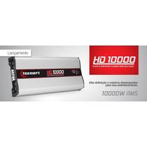 Modulo Amplificador Taramps Hd10000 10000w Rms + Voltímetro
