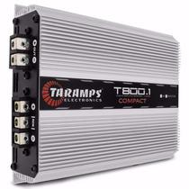 Modulo Amplificador Taramps T800.1 Compact 800wrms Mono 1can
