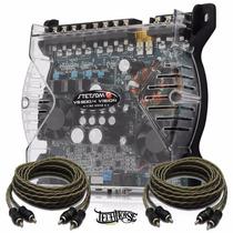 Módulo Amplificador Stetsom Vs 600.4 600w 4 Canais 2 Ohms