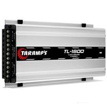 Modulo Taramps Tl-1800 530 Rms Rca 3 Canais Amplificador