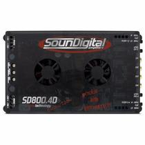 Modulo Soundigital Sd800 Amplificador 800w Promoção Relampag