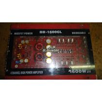 Módulo Som Amplificador B Buster Bb 1600gl Com Defeito