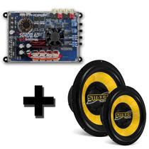 Kit Modulo Soundigital + Subwoofer Street 700 Amp+sub 1400w