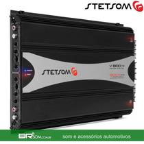 Módulo Amplificador Stetsom V1800.4 500w Rms Venon 4 Canais