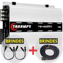 Módulo Taramps Ts 400x4 Digital 400w Rms + Brindes + Frete