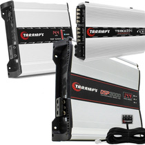 Kit Taramps Dsp 3000 + Ts800 Compact + Fonte 120a Automotivo