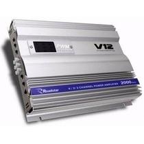 Modulo Amplificador Roadstar Rs-v12 2000w 4 Canais Classe A