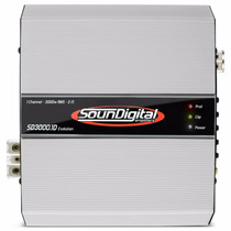 Modulo Potencia Soundigital Sd 3000 Evolution 3000w Rms