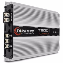 Modulo Taramps T800.1 Compact 1 Canal 800w Rms Potencia T800